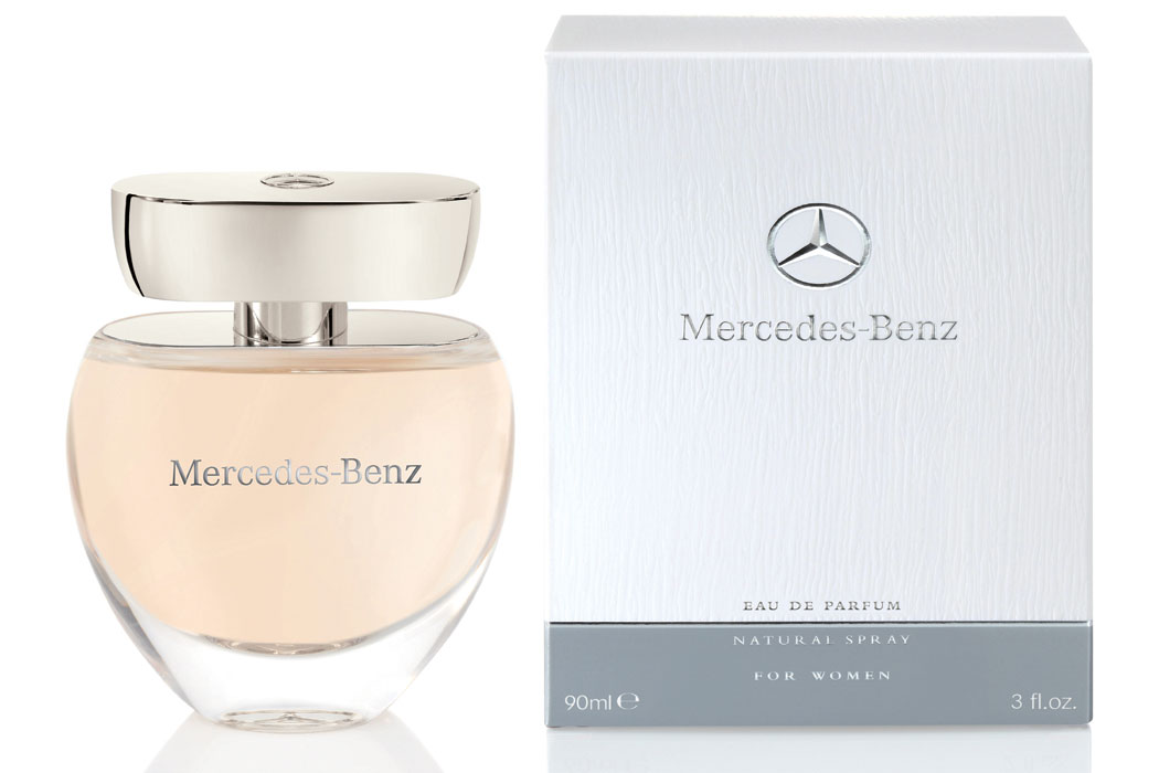 mercedes benz perfume the first feminine fragrance. Black Bedroom Furniture Sets. Home Design Ideas