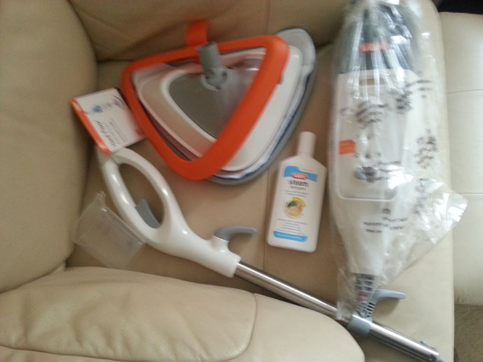 kenwood steam mop 2000 instruction manual