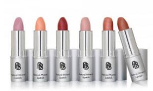 Barefaced Beauty Mineral Lipsticks