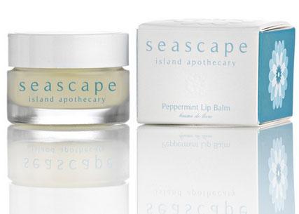 Seascape Peppermint Lip Balm