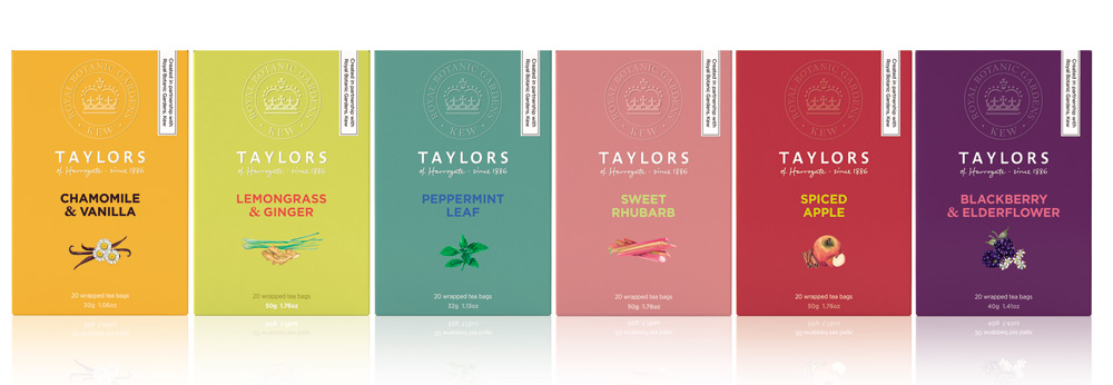 Taylors of Harrogate and Kew: the perfect blend