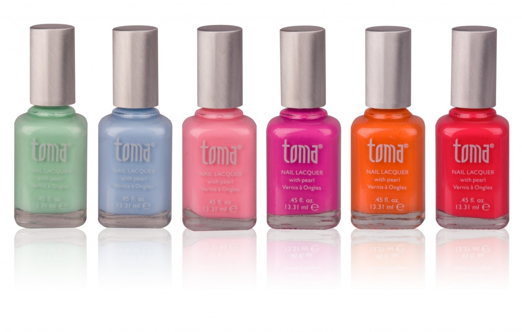 TOMA at Mad Beauty 'In The Garden' collection each £7.25 at www.madbeauty.com