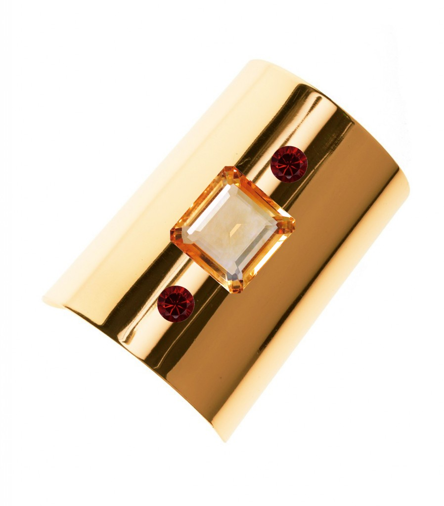 Augustine Jewels Yellow Gold Cuff for Christmas