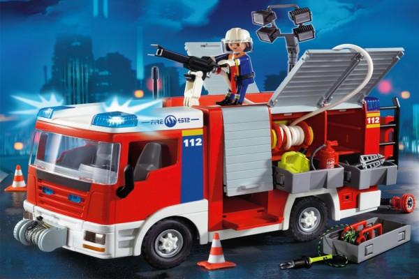 Playmobil Fire Engine