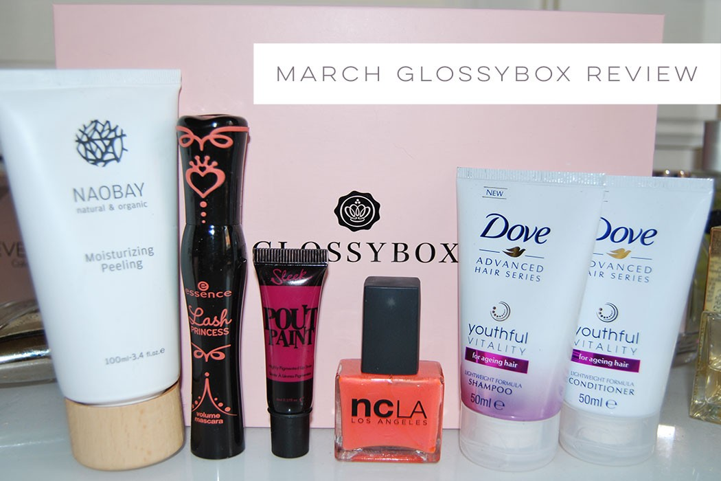 March Glossybox