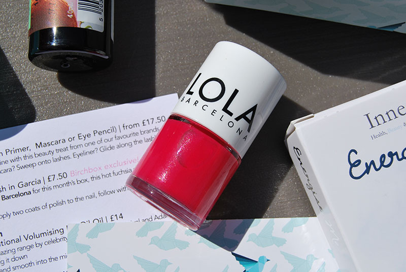 Lola Birchbox Nail Polish