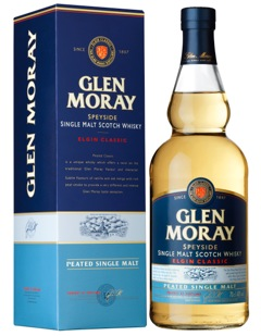 Glen Moray Peated Bottle and Carton HD