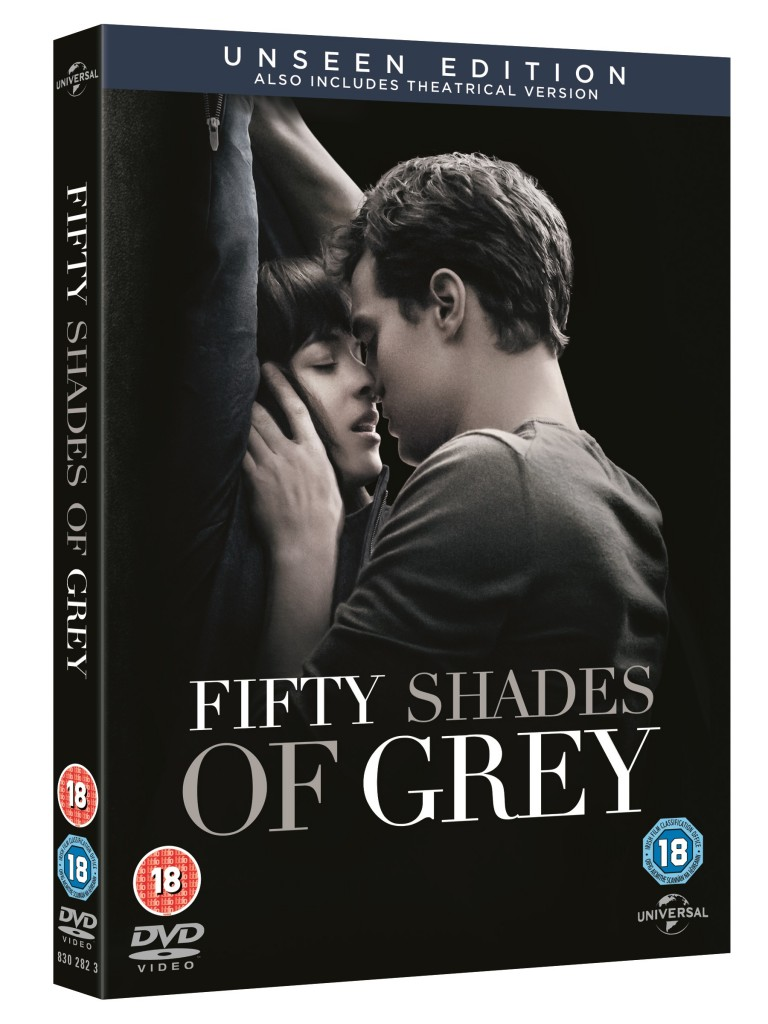 Win Fifty shades of grey on DVD