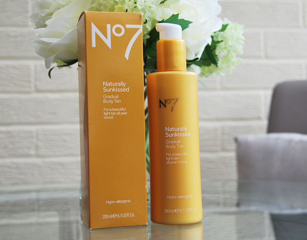 No Naturally Sunkissed Gradual Face Tan Review