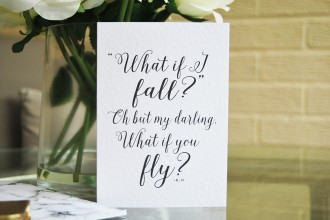 cute quote cards