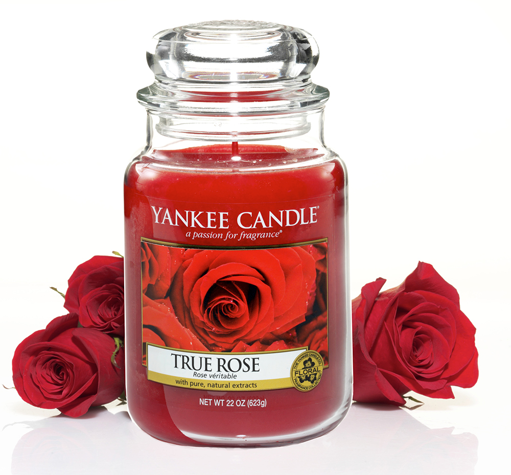 yankee candle valentines day red rose