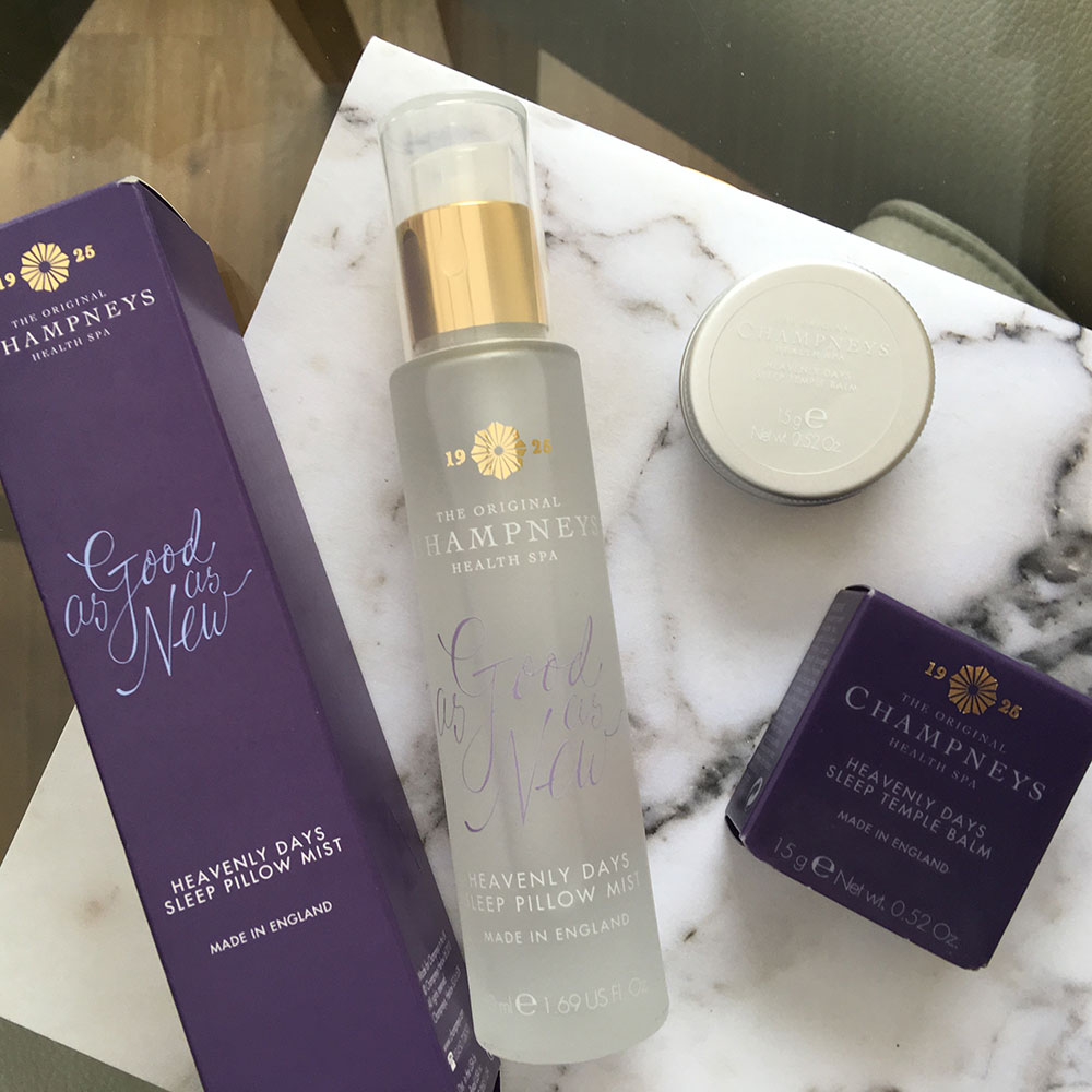 Champneys sleep spray