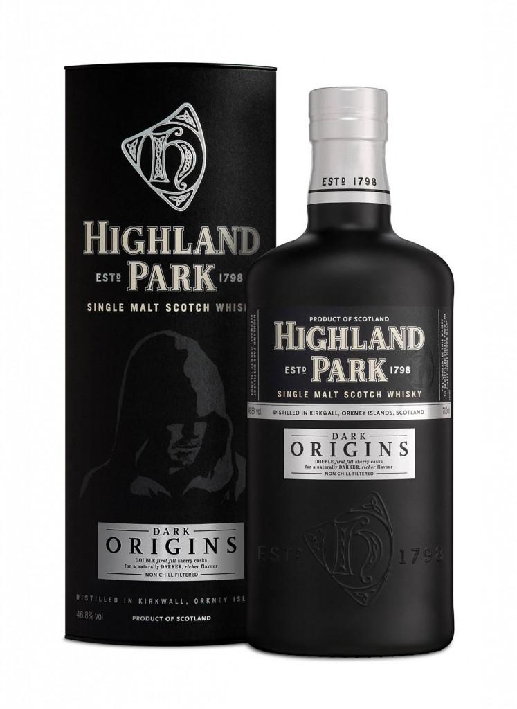 Dark Origins Bottle and Carton