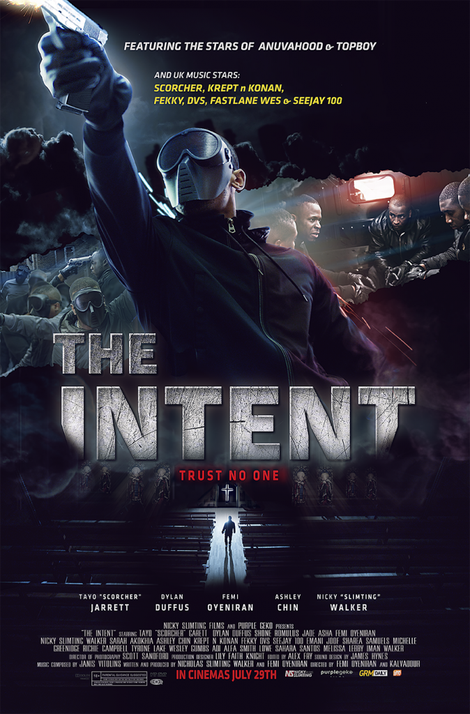The Intent Movie Trailer and Competition