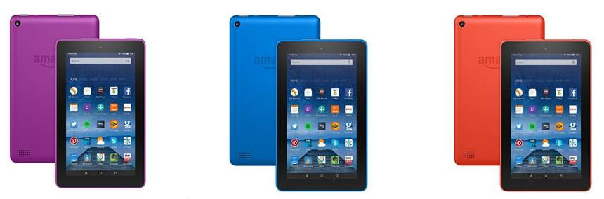 kindle fire colours