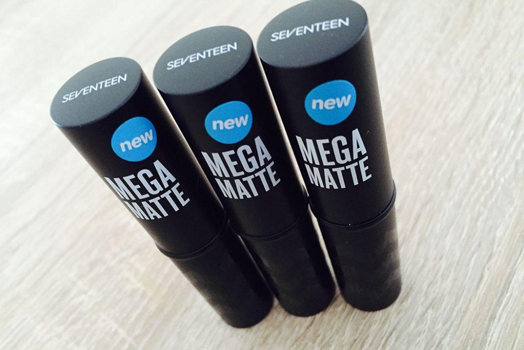 Seventeen Mega Matte Lipstick Review