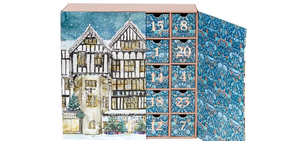 libery london advent calendar 2016