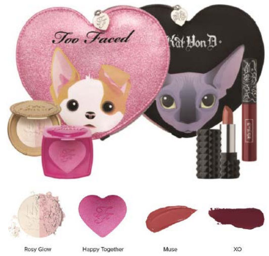 too faced and kat von d