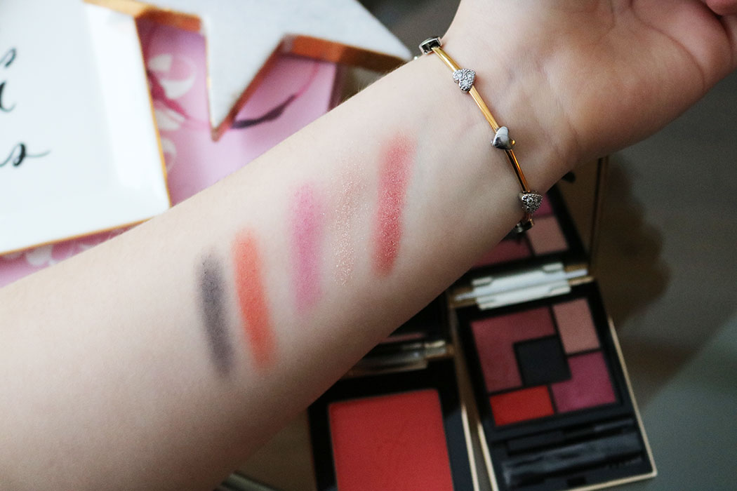 YSL Spring 2017 swatches