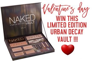 WIN This HUGE Urban Decay Naked Vault Volume 3 For Valentine's Day!!