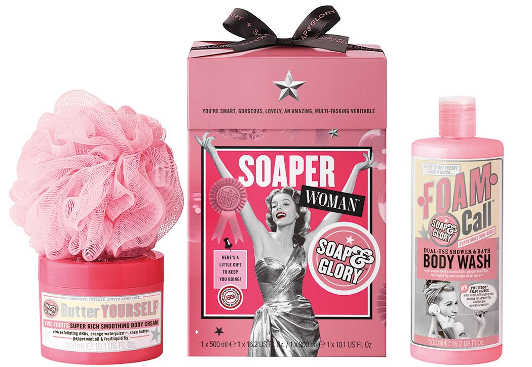 soaper woman set