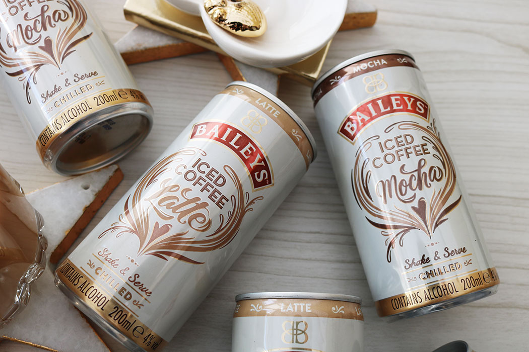 baileys coffee cans