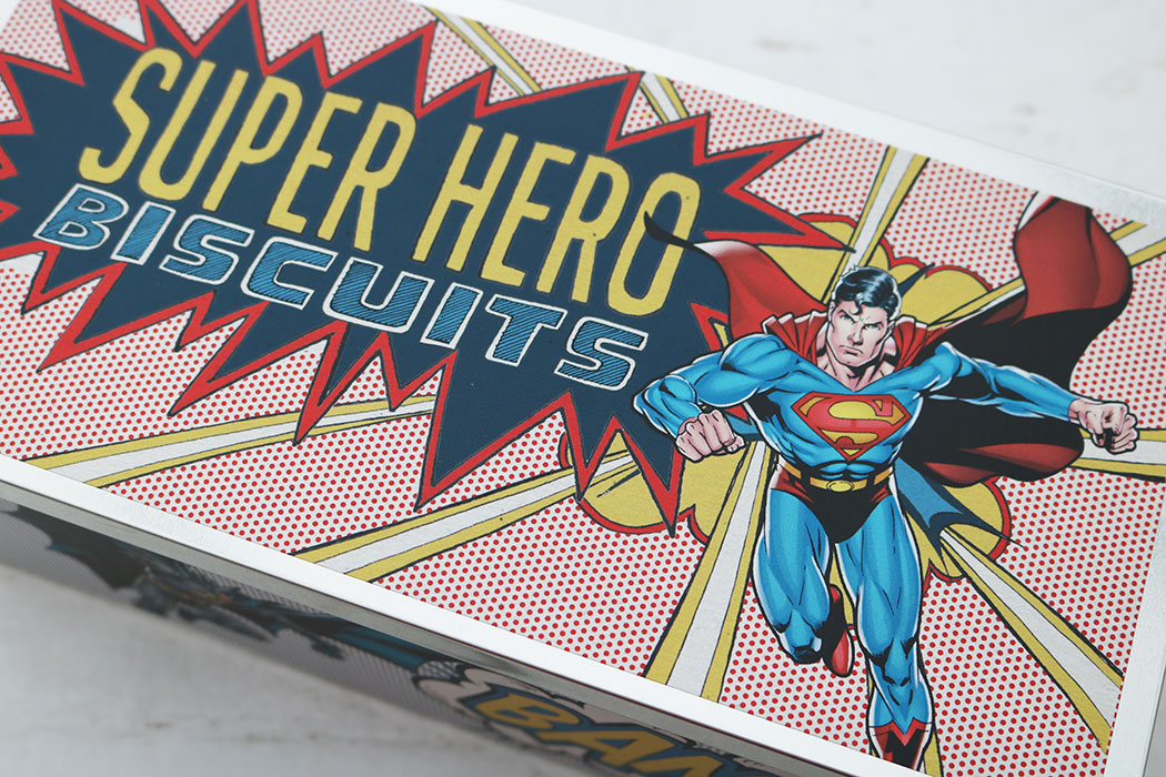 comic book biscuits