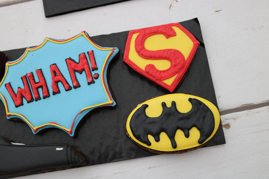 superhero biscuits