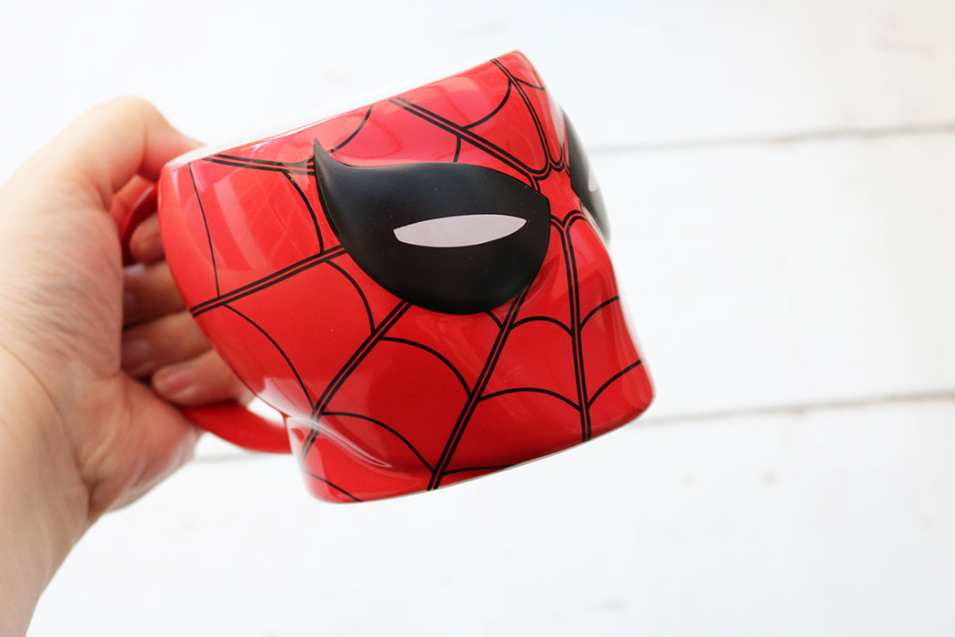 spiderman homecoming mug