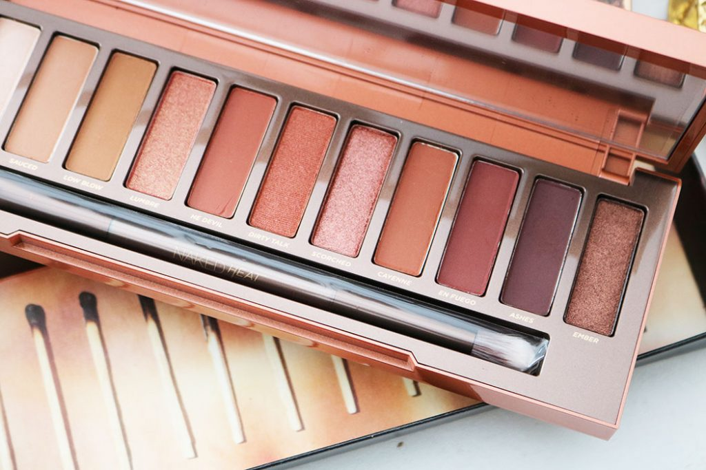 Urban Decay Naked Heat Palette Review And Swatches - When