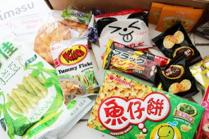 Chimasu Review | Monthly Subscription Box Snacks From East and South-East Asia