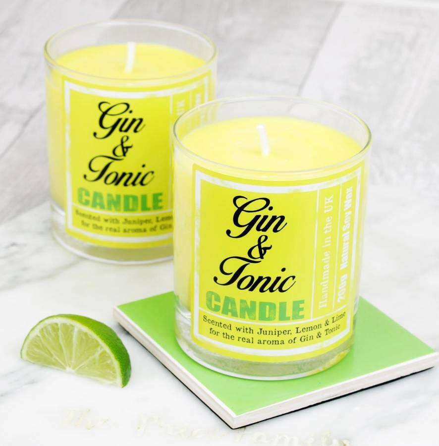 gin candle