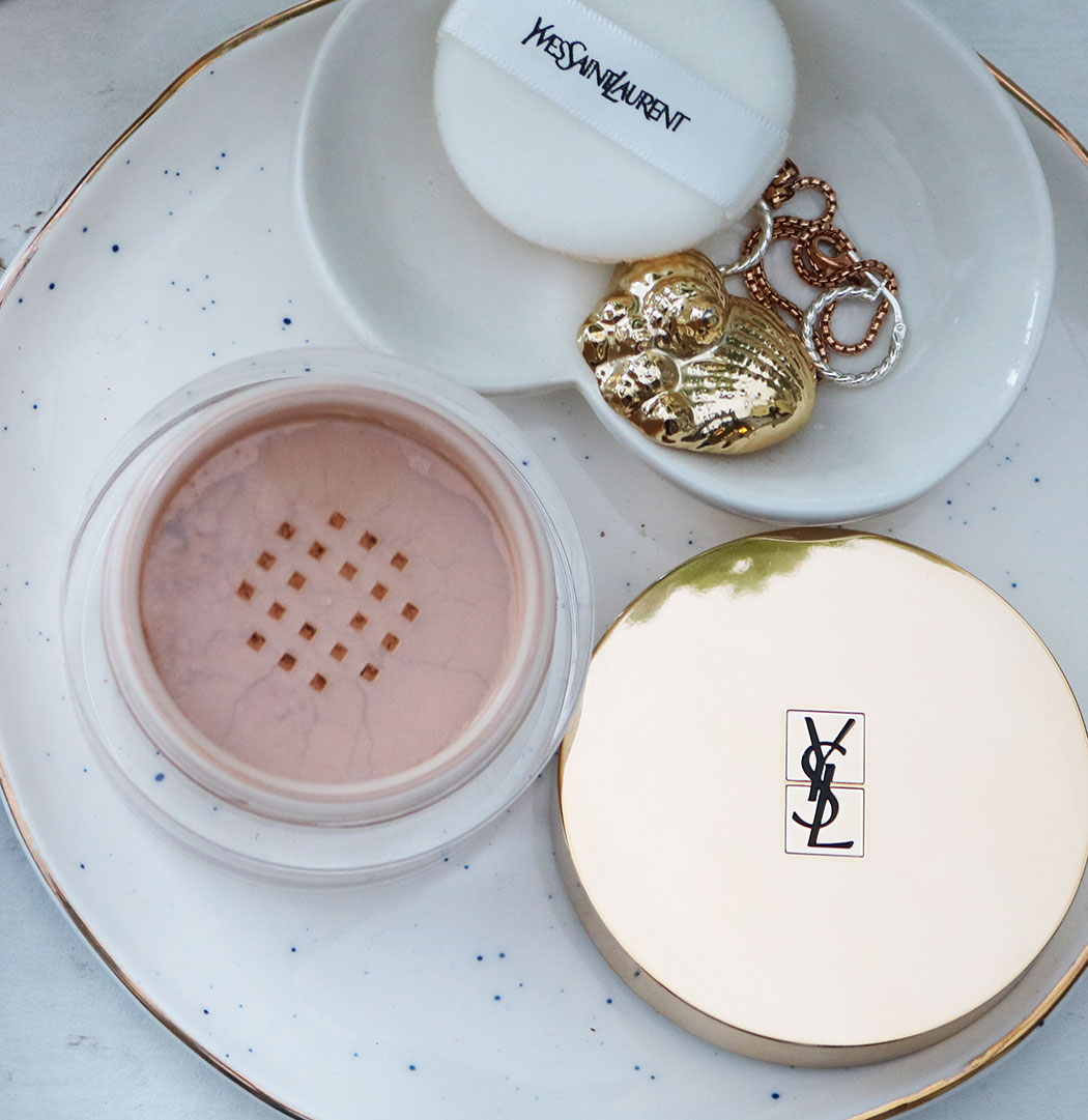 ysl finishing powder