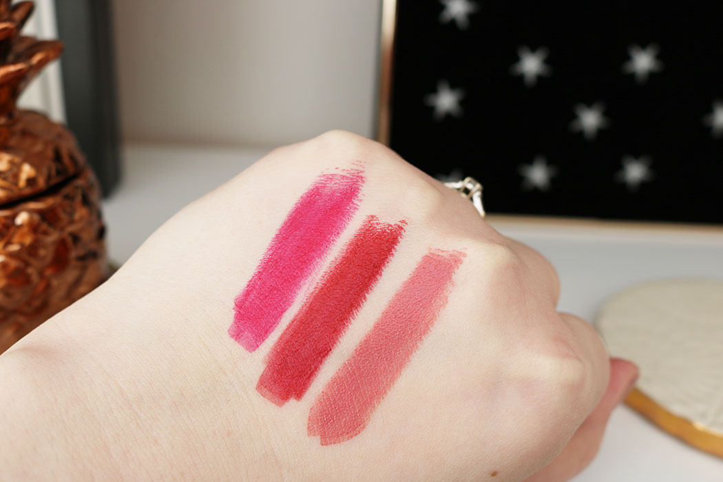 Charlotte Tilbury at your lip service swatches