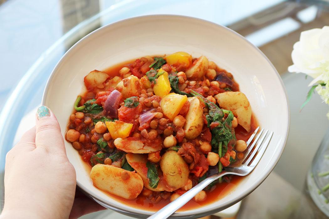 vegan vegetable curry recipe
