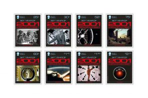 Stamps launched to Celebrate Kubrick's '2001: A Space Odyssey'