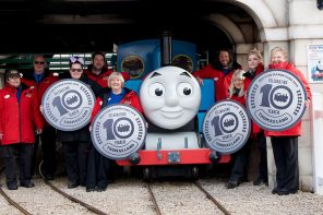 Celebrating the 10th Anniversary of Thomas Land at Drayton Manor!