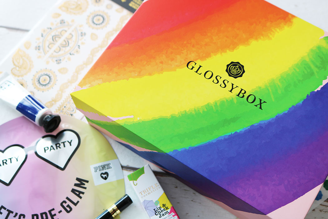 glossybox august 2018 review