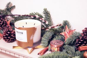 Styling The Christmas Mantelpiece with a little help from FlowerBe