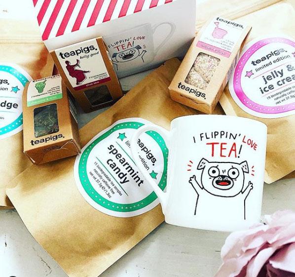 teapigs mugs and tea