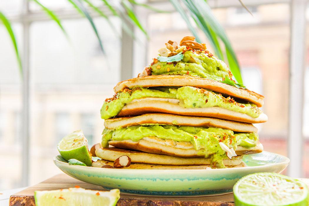 avocado pancakes