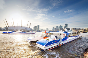 Set sail and soak up London's sights from the comfort of your own home