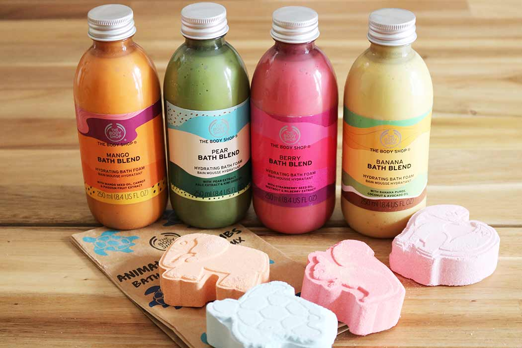 Fun New Summer Bath Blends From The Body Shop Lifestylelinked Com