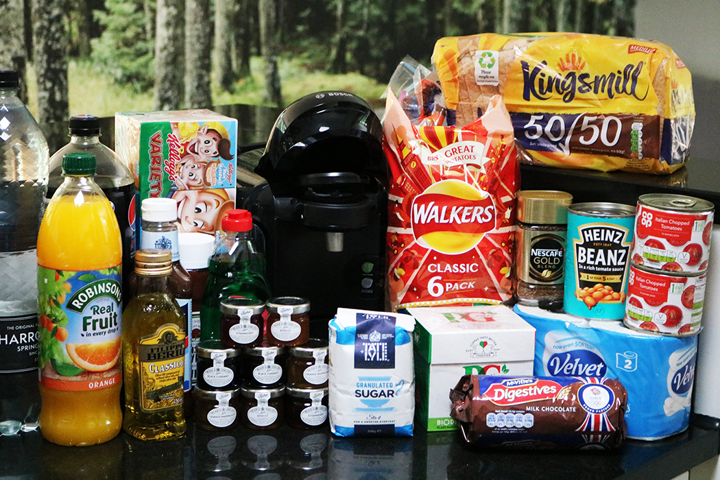centerparcs grocery pack