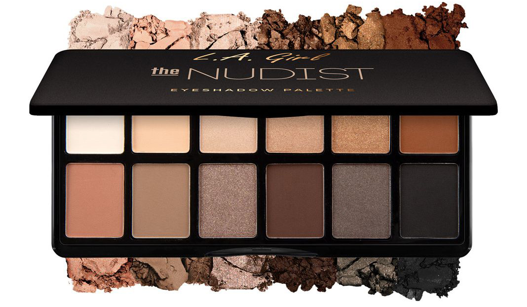L.A Girl Fanatic Eyeshadow Palette 'The Nudist'