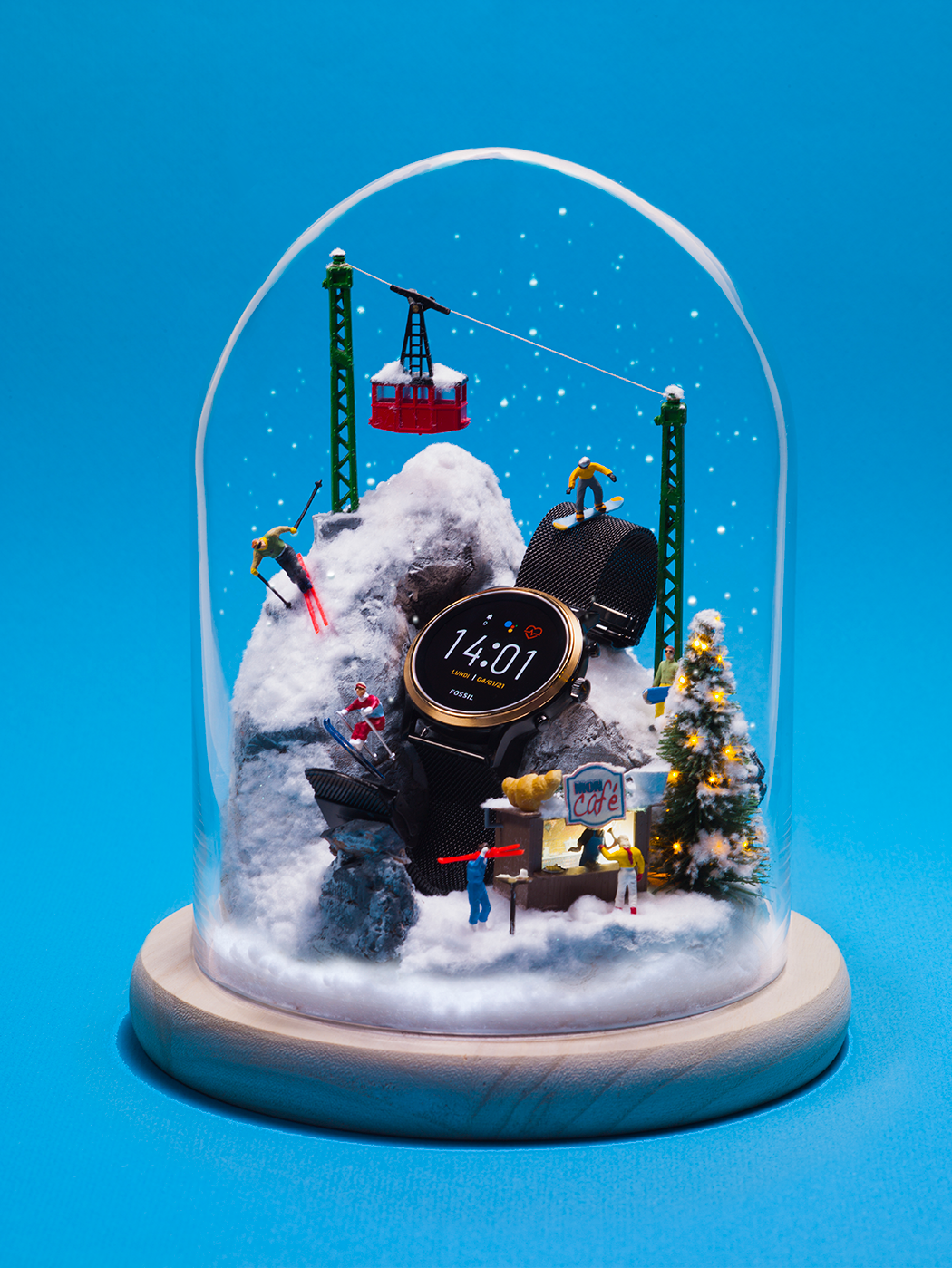 fossil snowglobes france