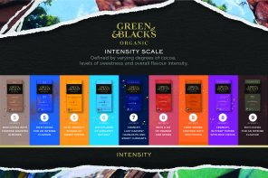 Green & Black launches its new intensity Scale as part of new pack re-design