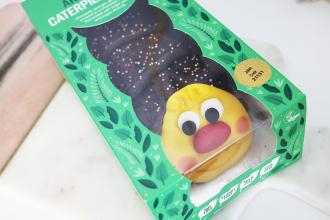 vegan caterpillar cake