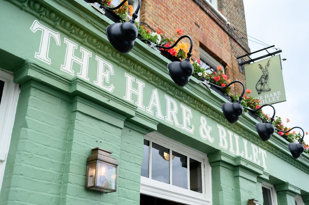 hare and billet