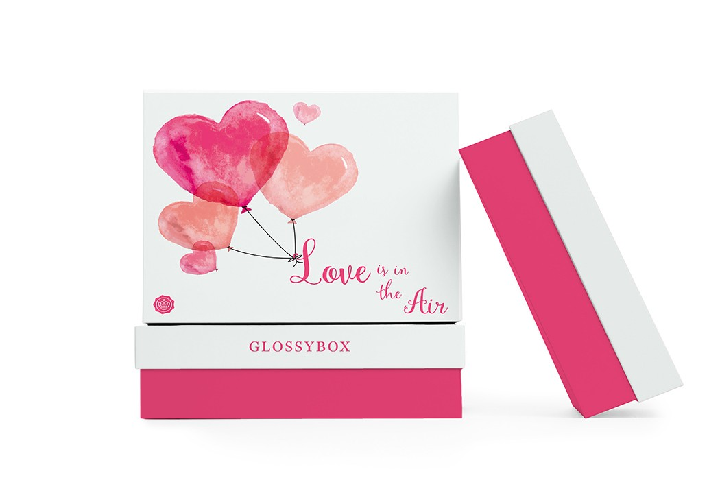 glossybox valentines box review 2016